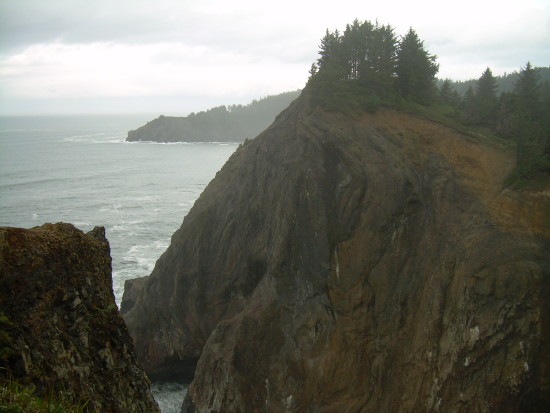 Neahkahnie Mountain Cliff