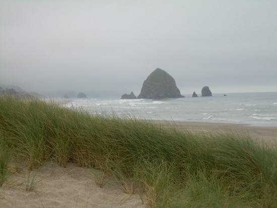 North end of Cannon Beach