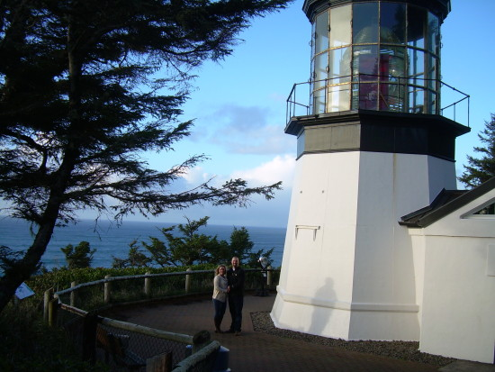 Cape Meares Lighthouse - Oceanside